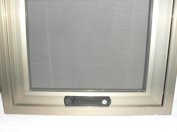 框中框金剛紗窗隱藏把手關閉_兒童防護紗窗