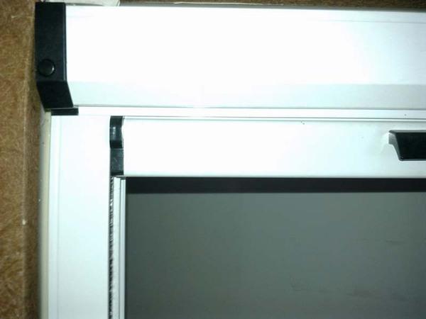 可拆洗阻尼紗窗盒右端圖