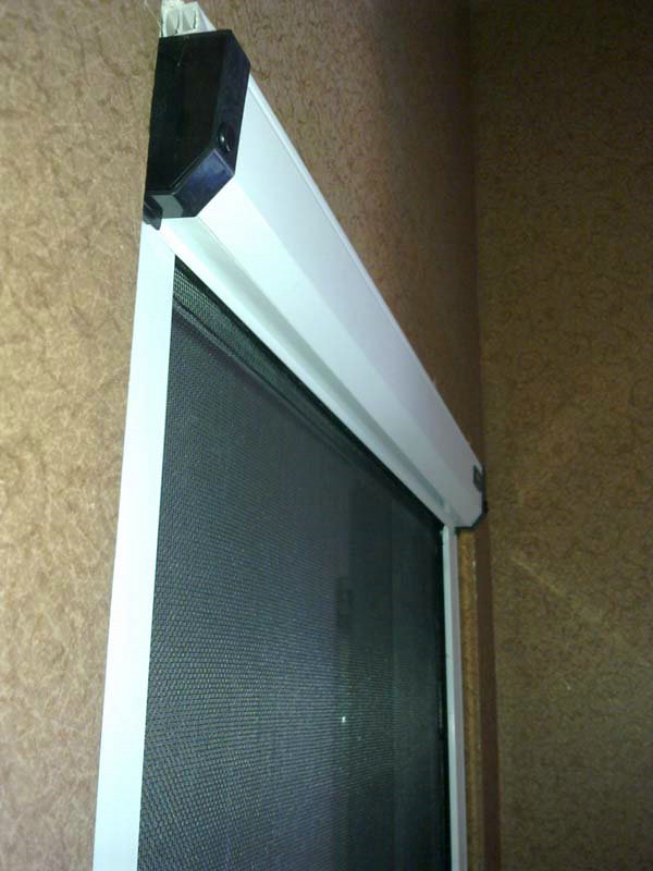 可拆洗阻尼紗窗盒側面圖