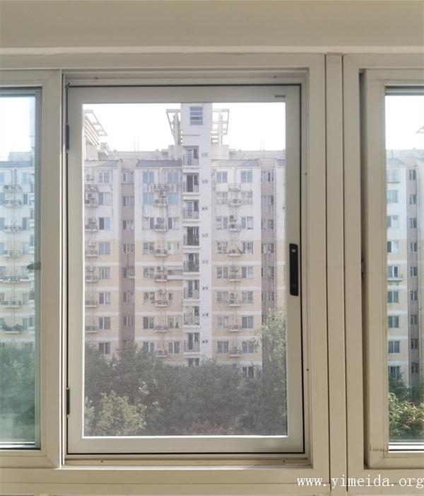 意美達外裝內開金剛網紗窗
