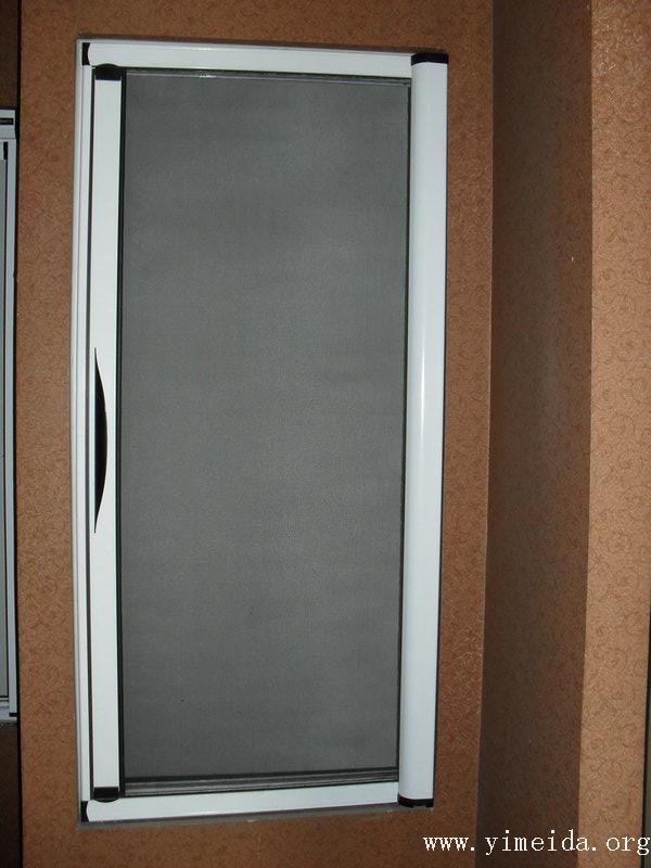 自動隱形紗門,磁吸式開合裝置
