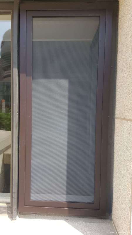 可拆洗金剛網紗窗外裝圖