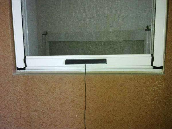 網天下紗窗底座與拉梁銜接圖