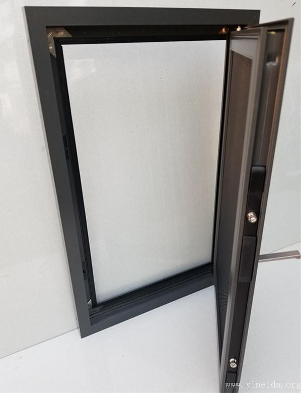 金剛網紗窗開啟與多點鎖五金傳動器