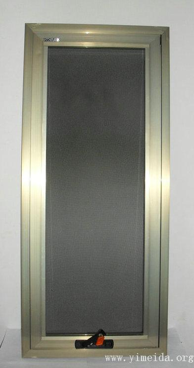 框中框金剛網紗窗正面圖_兒童防護紗窗_防蚊紗窗