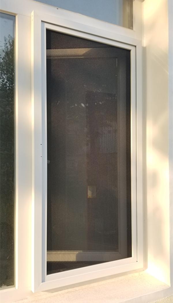 外裝金剛網紗窗室外實景