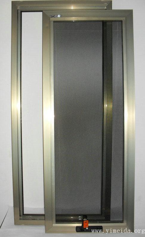 框中框金剛網紗窗扇、框拆卸_兒童防護紗窗