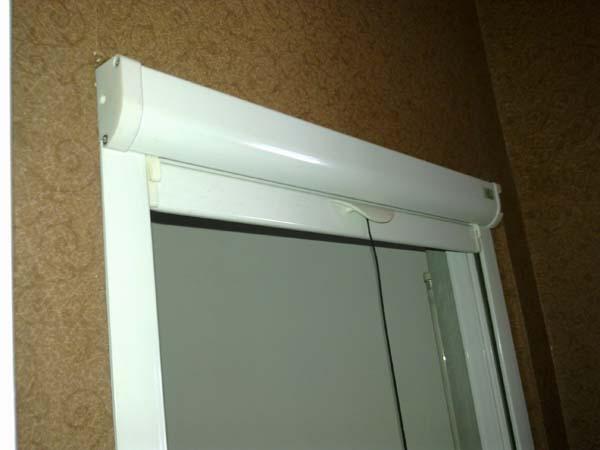 隱形紗窗盒側面圖