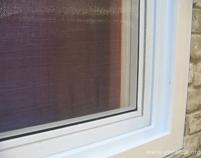 塑鋼推拉固定紗窗