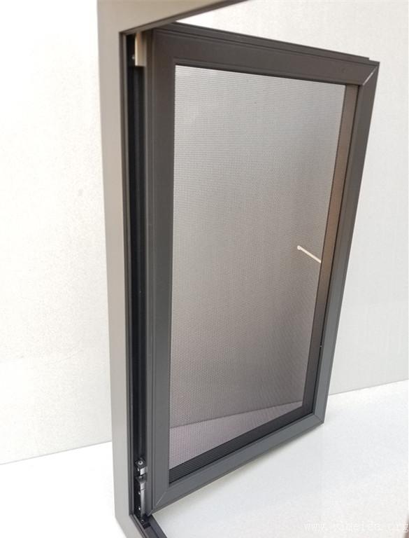 外裝內開金剛網紗窗隱藏合頁