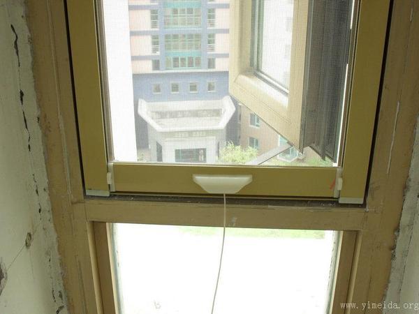 全鋁合金整體掛鉤隱形紗窗