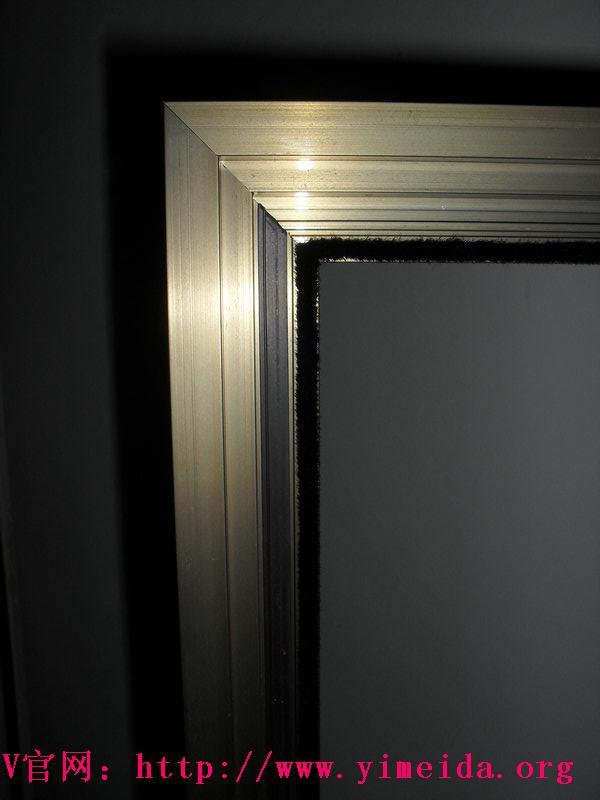 金剛網紗窗扇背面磁鐵開合