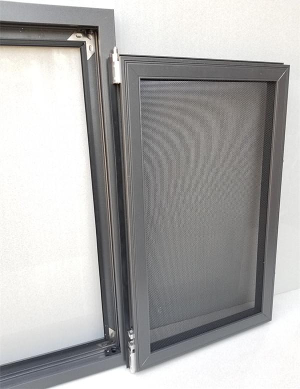 金剛網紗窗扇、框拆卸圖