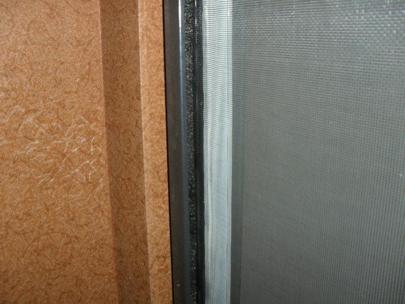 隱形紗窗軌道防強風_上下拉紗窗_