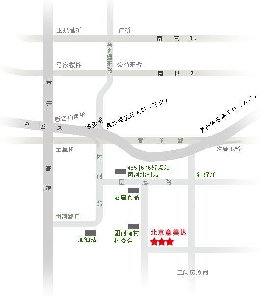 意美達紗窗公司工廠地圖